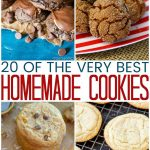 20 Delicious Homemade Cookies
