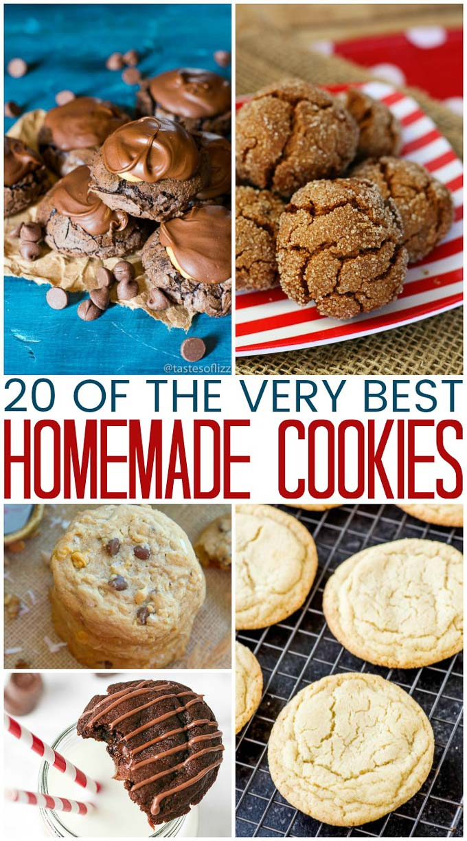 Homemade cookies are always a good idea! After all, who could say no to chewy sugar cookies or M&M chocolate chip pudding cookies? | Design Dazzle
