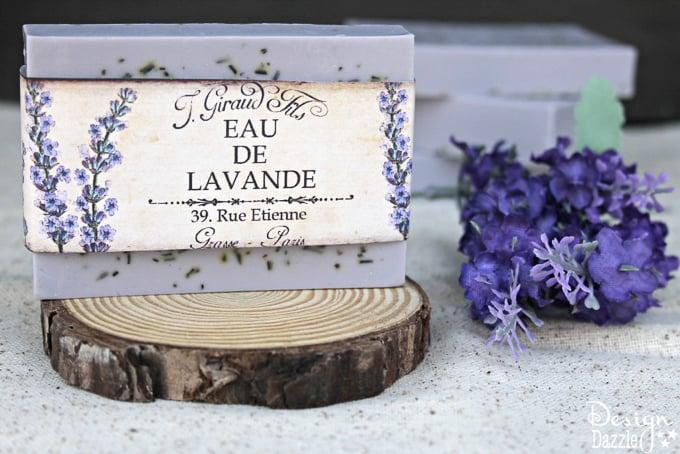 Homemade Rosemary Lavender Soap