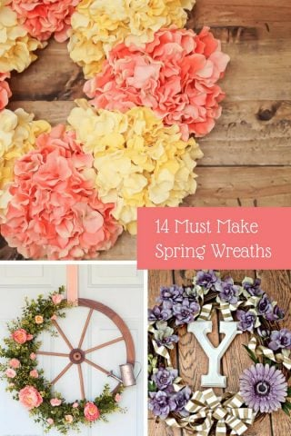 14 Must Make Spring Wreaths