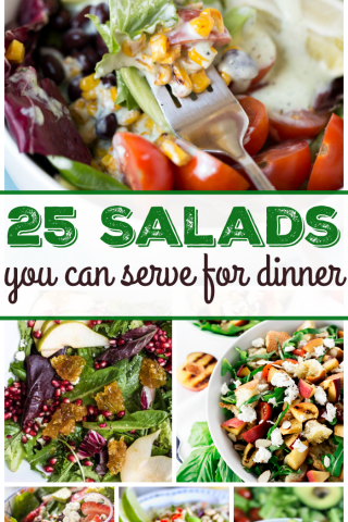 25 Salads You Can Serve for Dinner