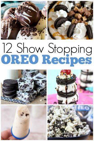 12 Show Stopping Oreo Recipes