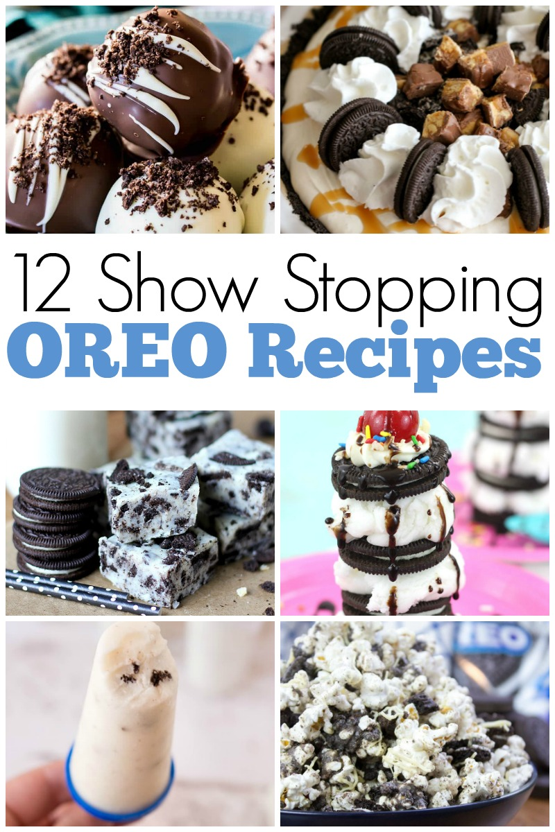 Grab that glass of milk, and call all of your friends over for an afternoon of delicious fun, because we're about to bring you 12 show stopping oreo recipes!