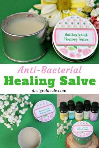 Healing Essential Oils Salve: Antibacterial