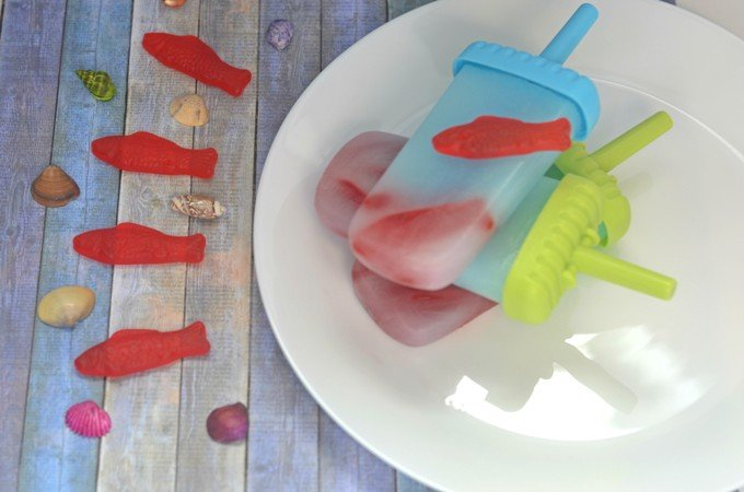 Super Fun Underwater Popsicles