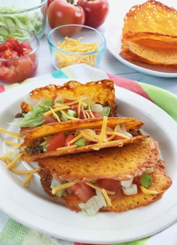 How to make cheese taco shells