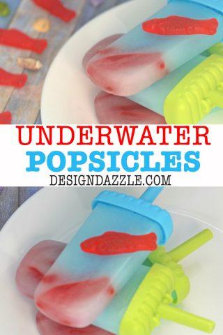 Super Fun Underwater Popsicles