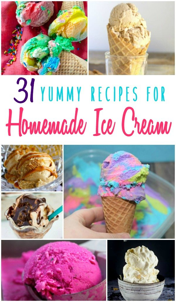 A scoop of homemade ice cream is all you need in a warm day (or even in chilly day). So we've collected some of the best homemade ice cream recipes! - Design Dazzle