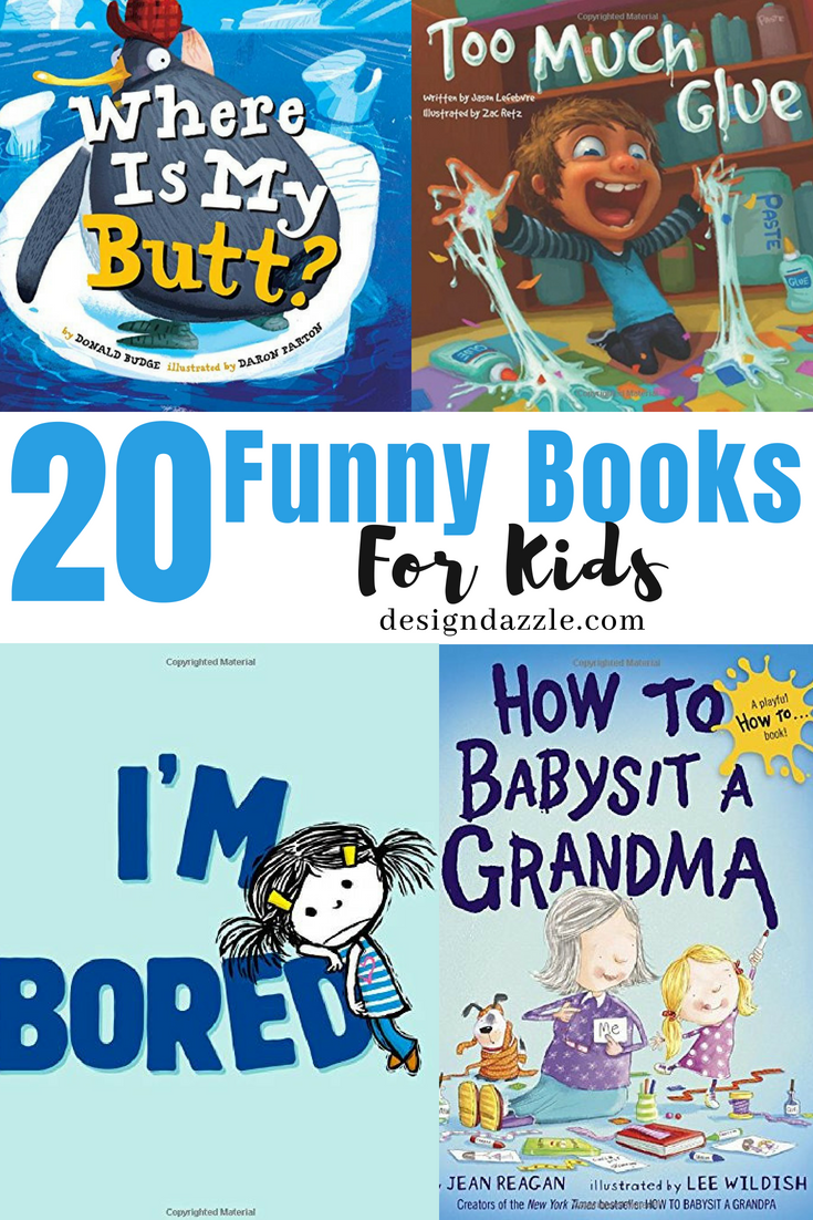 20 Funny Books for Kids | Design Dazzle | Bloglovin\'