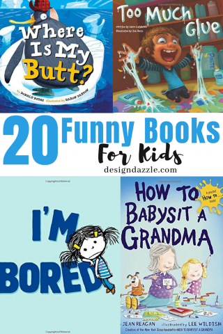 20 Funny Books for Kids