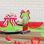 Easy Summer Watermelon Birthday Party