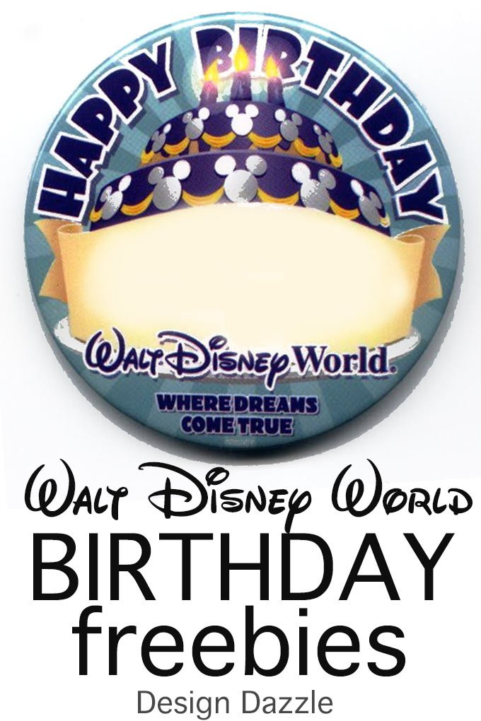 Disney World Birthday Freebies