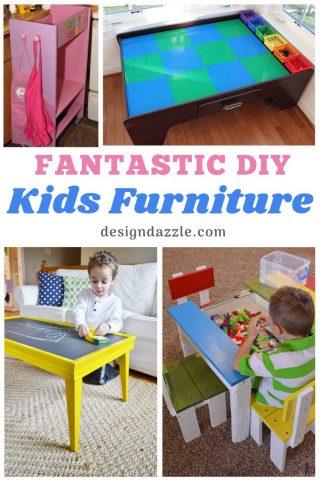 12 DIY Kids Furniture