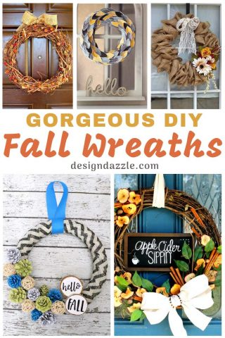 14 Gorgeous DIY Fall Wreaths