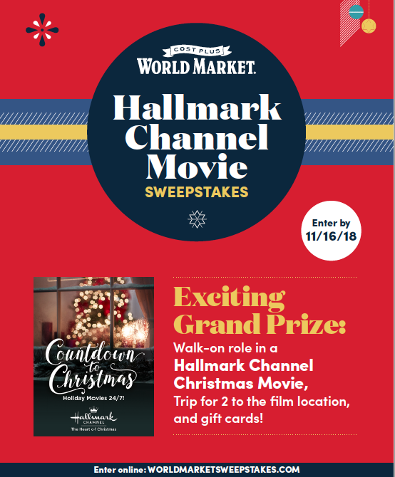 I recently hosted a Christmas Party with food and Christmas movie watching. You can win a walk-on role in an Hallmark Channel Christmas movie!| Design Dazzle