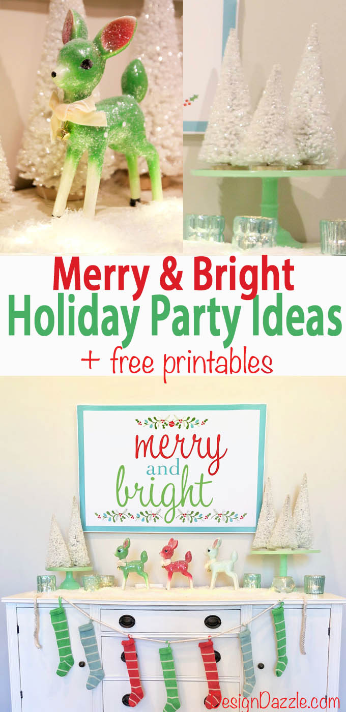 Christmas party ideas and delicious party food to wow your guests. Fabulous decor from @WorldMarket #ad #WorldMarket #DiscoverWorldMarket #freeprintables #Christmasfreeprintable