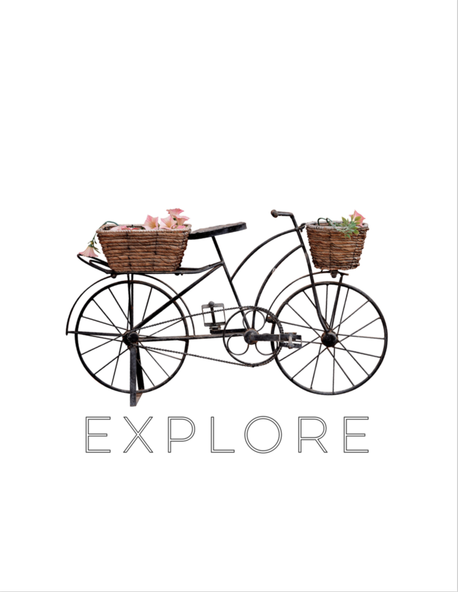 Explore-Wall Art Free Printable!