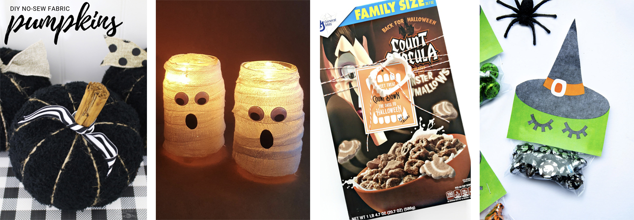 DIY Halloween Mummy Lanterns
