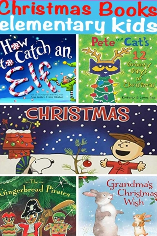 Christmas book ideas for elementary kids | Design Dazzle