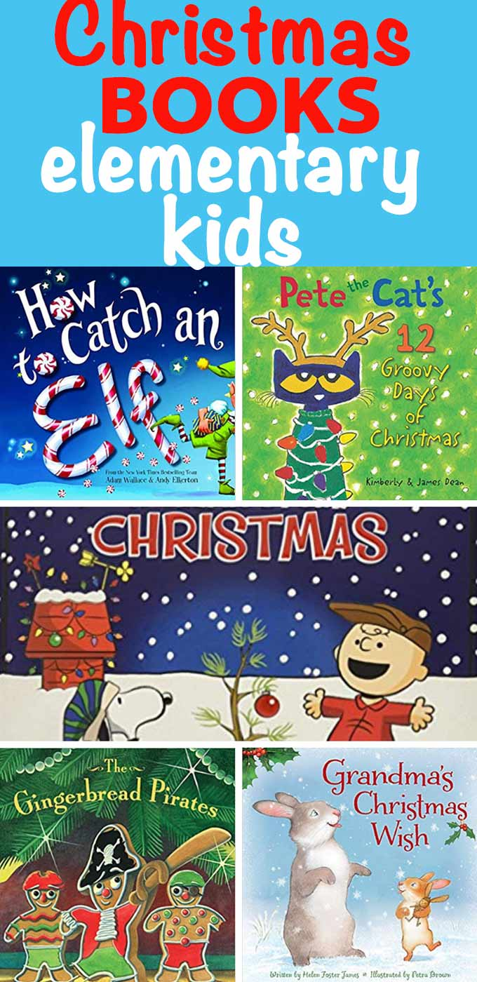If you're looking for holiday gifts for elementary children, consider these adorable Christmas books!  - Design Dazzle