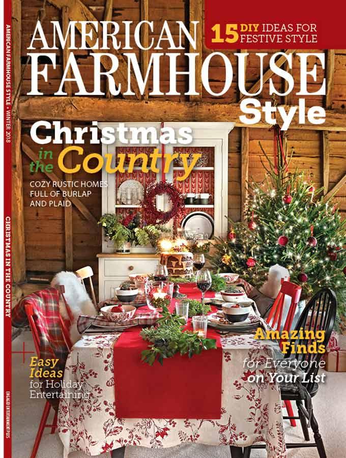 Christmas farmhouse cover