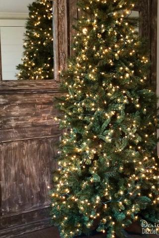 Christmas tree decorating 5