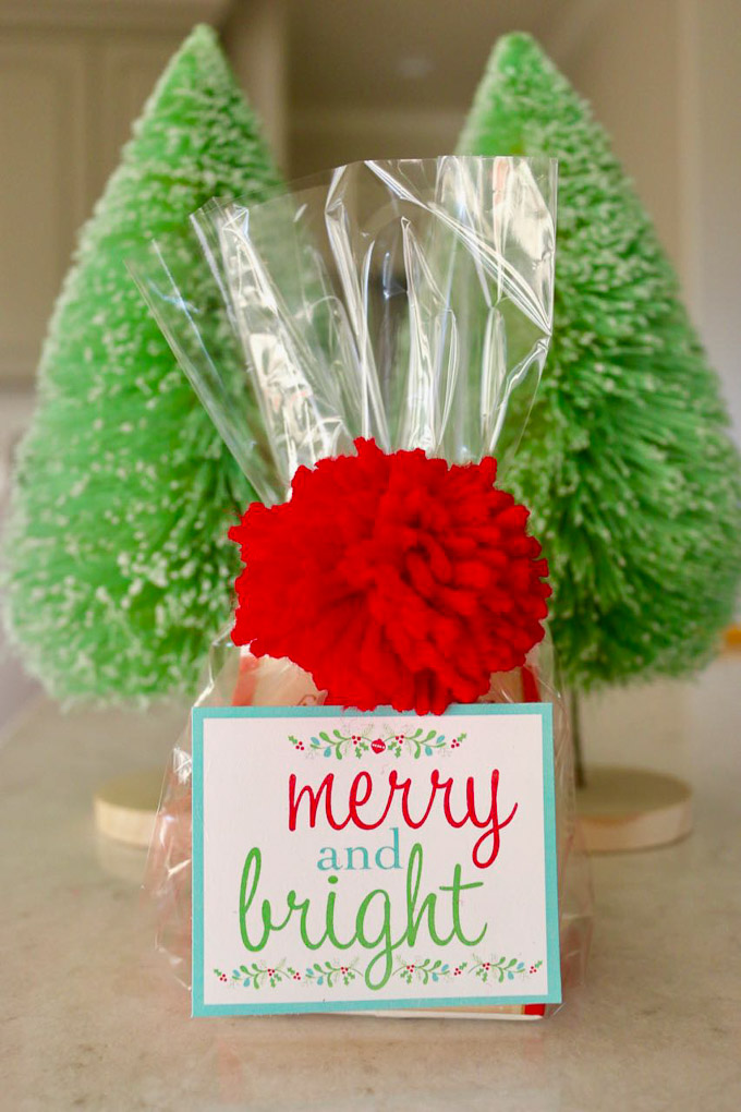 These Fun and Festive Merry and Bright Christmas Printables are the perfect addition to your Christmas gifts, parties, and decor this year!