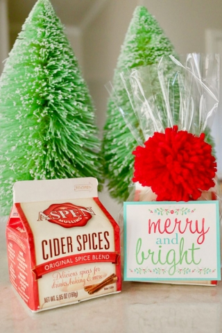 Merry and bright printables 2