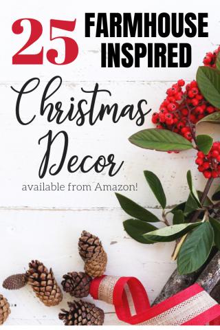 Pinterest 25 farmhouse christmas decorations