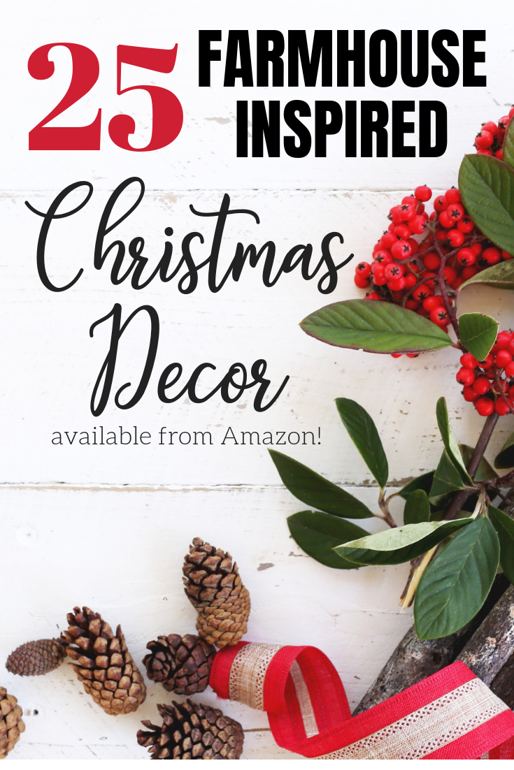 Who doesn't love farmhouse style, what about farmhouse christmas decorations? I don't think it could get better than that! This post has 25 gorgeous farmhouse style christmas decorations that you can't miss!