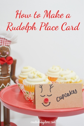 Rudolph place card