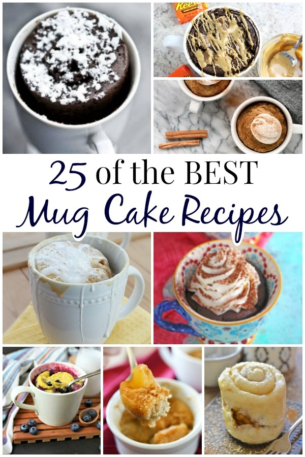 These amazing mug cake recipes will definitely satisfy your cravings! Here are some of the best mug cake recipes from brilliant bloggers out there! - Design Dazzle