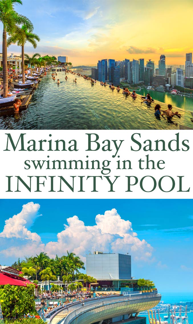 Singapore Marina Bay Sands and swimming in their infinity pool - the most amazing travel desitnation! Definitely top of my 'things to do' list! | Design Dazzle
