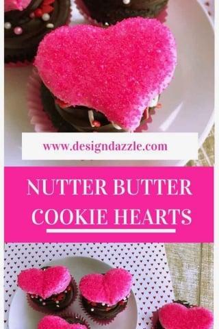 Nutter butter cookie hearts pinterest 1