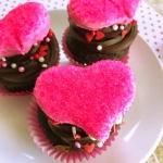 Nutter butter heart cupcakes 11
