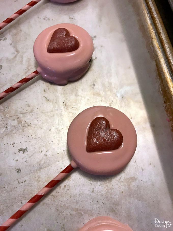 Valentines day oreo pops 2