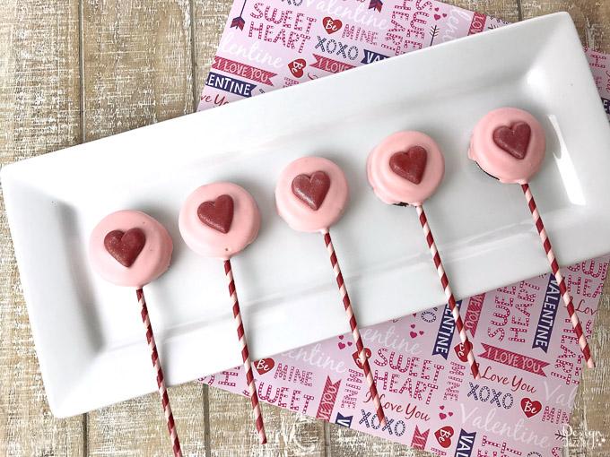 Valentines day oreo pops 3