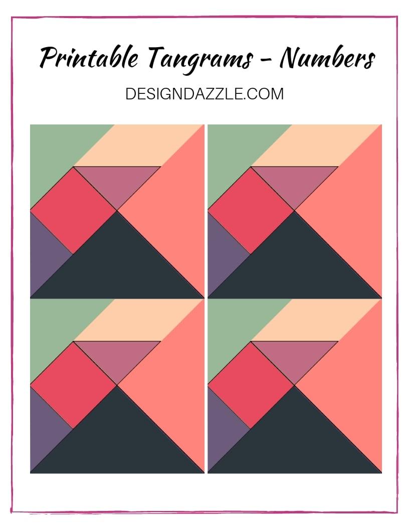 Printable tangrams numbers page 1 jpg