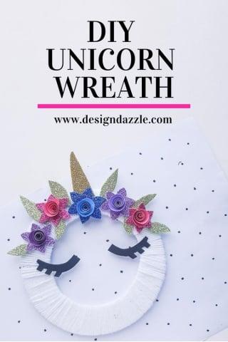 Unicorn wreath pinterest 1