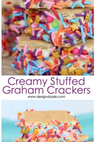 Sweet creamy graham crackers pinterest 1