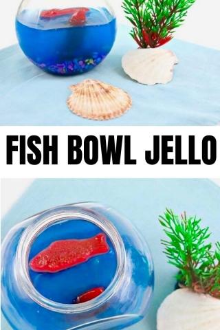 Under the sea aquarium jello 2
