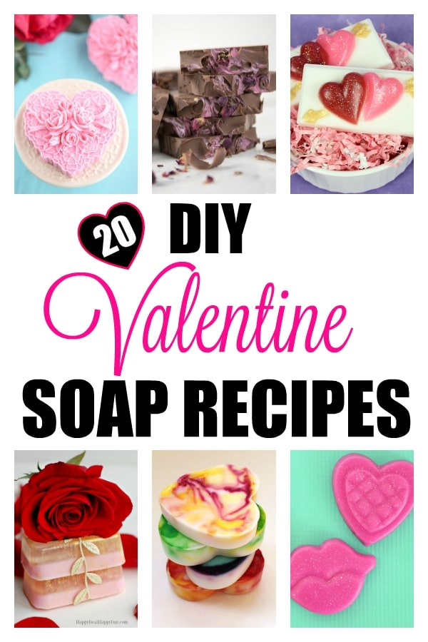 Diy valentine soap recipes