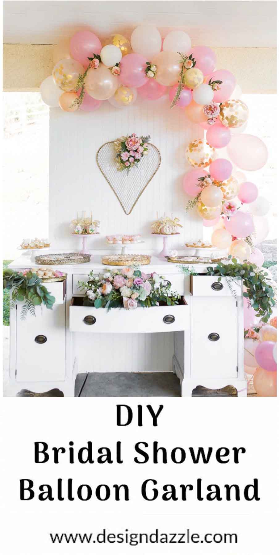 How To Make A Balloon Garland That S Gorgeous Design Dazzle