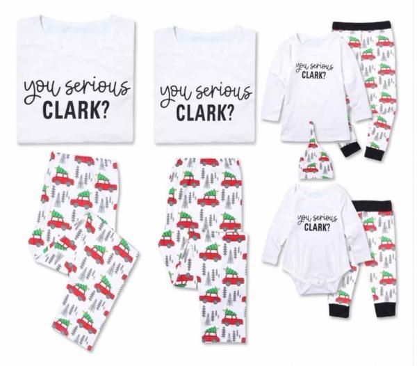You serious Clark - Christmas pajamas - All things Christmas Vacation