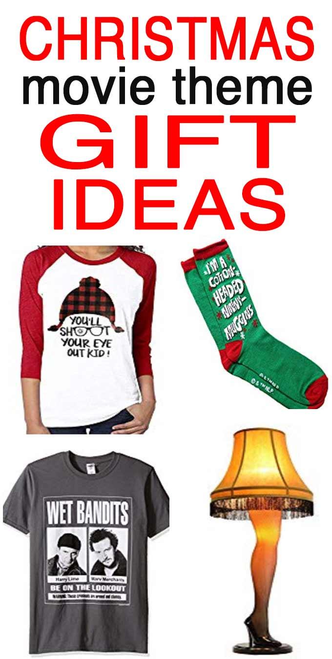 Christmas movie theme gifts