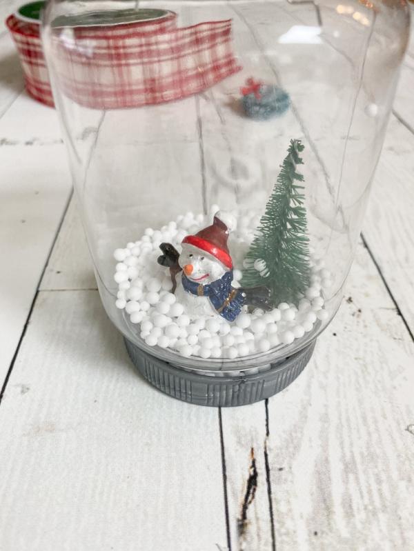 Everyday party magazine diy snowglobe ornaments 5