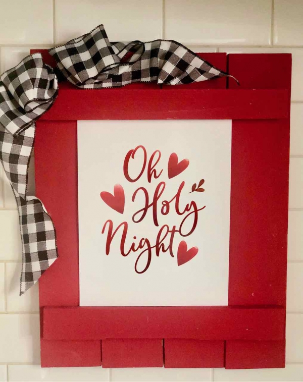 Oh Holy Night Free Printable Gift Tag
