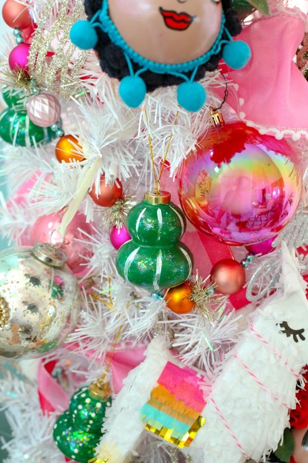 Frida kahlo handmade ornaments christmas tree 13