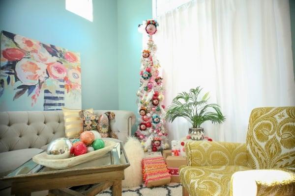 frida kahlo christmas tree