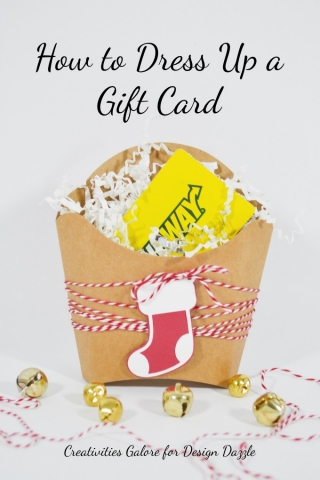 How to dress up a gift card